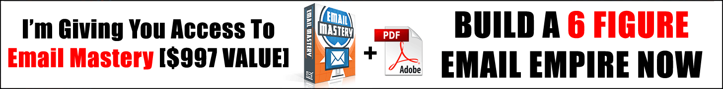 Email Mastery Offer